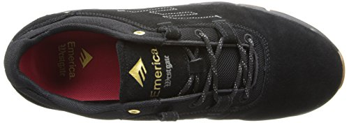 Emerica Men's The Brandon Westgate Skateboarding Shoe Black/Gum kAi1UxuY3l