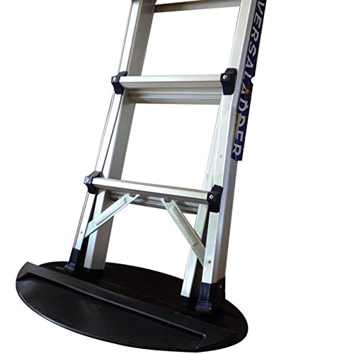 Extension Ladder Stop Mat,Safe Non-Slip Anti-Skid Anti-Slip Stopper Mat, Soft Rubber 27''x15.7'',Stepladder Telescoping Accessories Part,Floor Protect Protection Safety