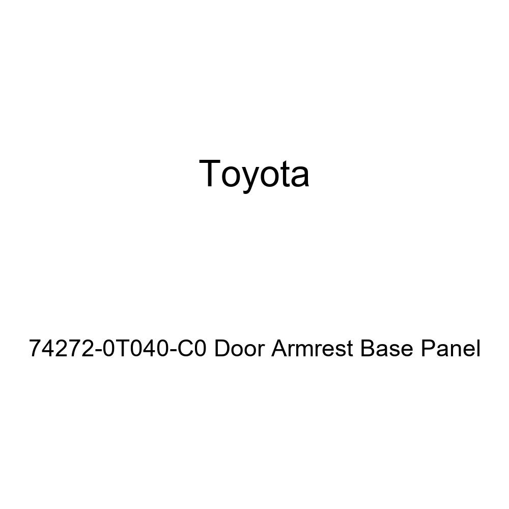 TOYOTA Genuine 74272-0T040-C0 Door Armrest Base Panel