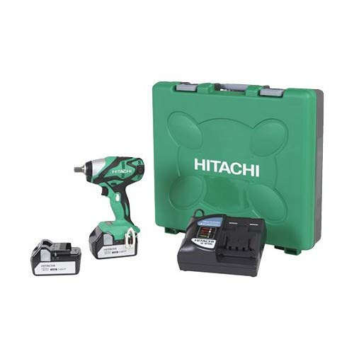 Hitachi WR18DSDL 18-Volt Cordless Lithium-Ion Impact Wrench (Includes Two 3.0 Ah Batteries)