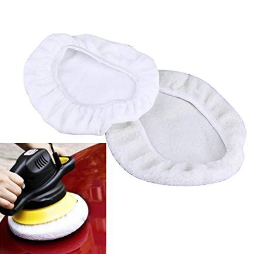 2 Pack Automotive Polishing Bonnet Waxers Bonnet Set Waxer Bonnet Polishing Pad Waxing Bonnet Waxing Cover: Amazon.co.uk: Kitchen & Home
