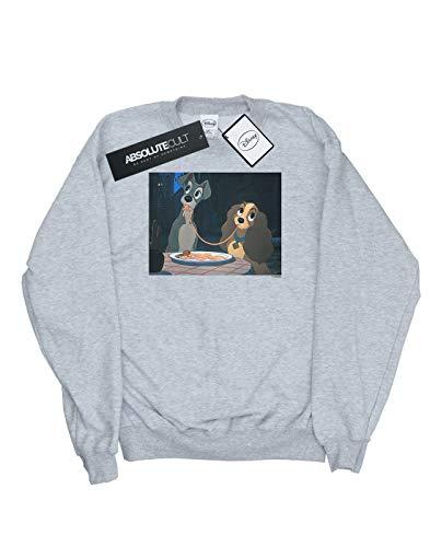 Gris The Slurp shirt Disney Sweat Sport Tramp Spaghetti Fille And Lady qTwCBwgf