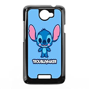 DIY Printed Lilo and Stitch hard plastic case skin cover For HTC One X SNQ602162