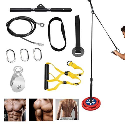 Katrol Kabel Systeem Fitness Apparatuur – Thuis Indoor Apparatuur voor krachttraining Armmachines