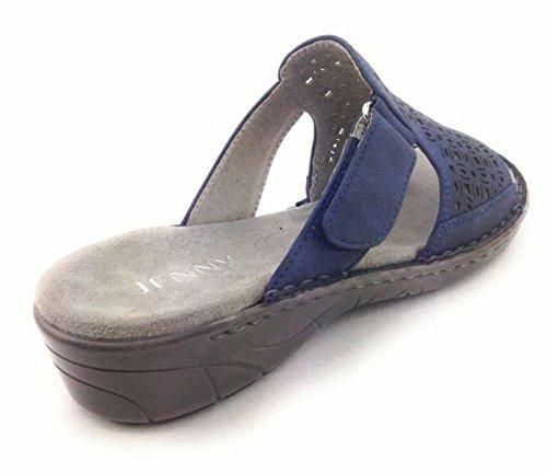 Jenny Women's 22 57281 78 Clogs Blue NIDqZE