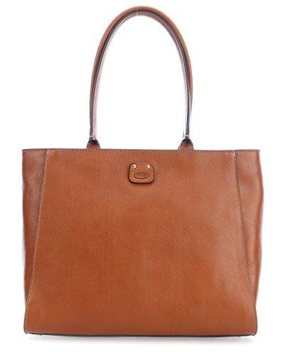 Brics Life Pelle Handtasche brown_camel x