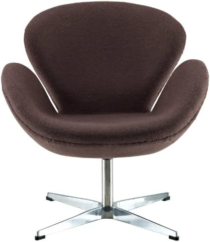 Modway Wing Wool Upholstered Lounge Chair