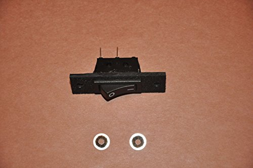 Jenn-air Cooktop Stove Fan Switch Replacement (Not Original) 2 Wire Kit AP4009843 by Aftermarket Custom