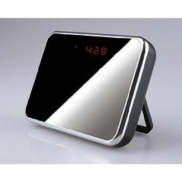 Agente007 - Camara Espia Wifi P2P Oculta En Reloj Despertador Full Hd 1080P Grabacion Sd Vision Nocturna: Amazon.es: Bricolaje y herramientas