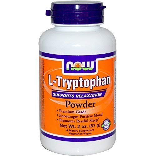 Now Foods, L-Tryptophan Powder, 2 oz (57 g) - 2PC