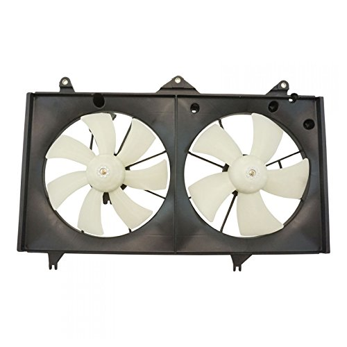 Dual Radiator AC Cooling Fan w/ Motor for Toyota Camry Solara 2.4L (Fan Solara Radiator Cooling Toyota)