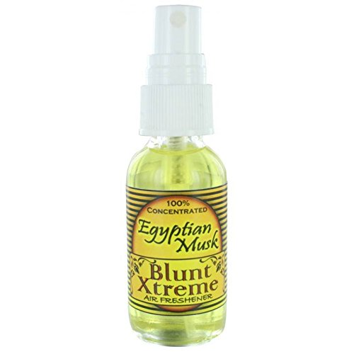 Blunt Xtreme Majestic Egyptian Musk Type Air Freshener - 100% Ultra Concentrated Oil Based Spray - Ideal for Bathroom, Home, Car More - Smokers' 1st Choice - Long Lasting Effects -