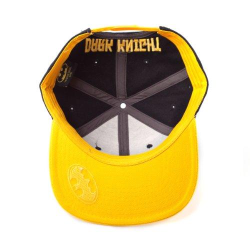Logo College Hombre Snapback Knight béisbol negro gorra nbsp;– Batman amarillo Cap de nbsp;Dark HB6pg