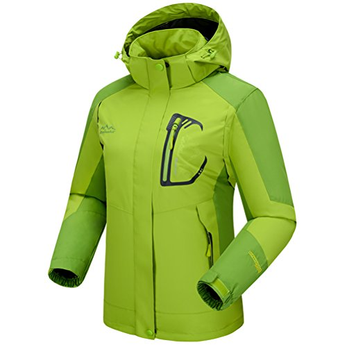 [Timeiya Women's Waterproof hooded Jackets for mountaineering Outdoor Autumn] (Best Figure Skating Costumes)