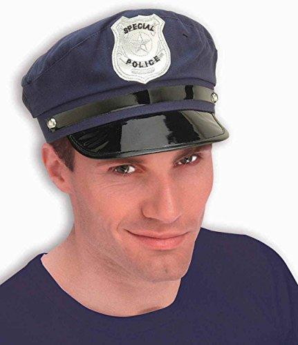 Forum Novelties 52735 Policeman Cloth Hat, (Halloween Costumes Policeman)
