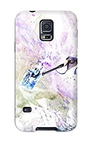 High Quality CaseyKBrown Aion Game Girl Skin Case Cover Specially Designed For Galaxy - S5
