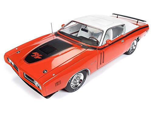 Auto World AMM1148 American Muscle 1971 Dodge Charger R/T 1:18 Scale Diecast Replica