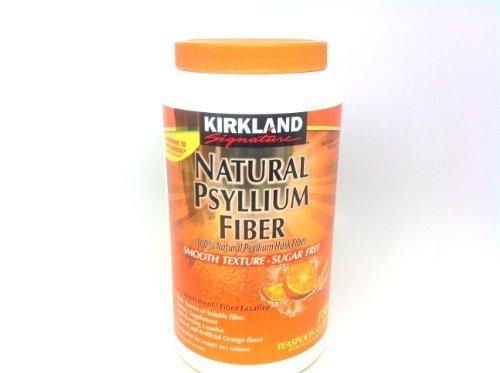 Kirkland Signature Natural Psyllium Fiber (36.8 Oz) 180 TEASPOON DOSES by Kirkland Signature