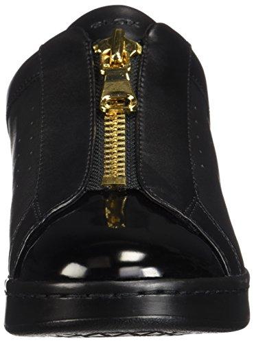 Nero Geox D Sneaker Jaysen Infilare black C9999 Donna A rRYxpqwaR