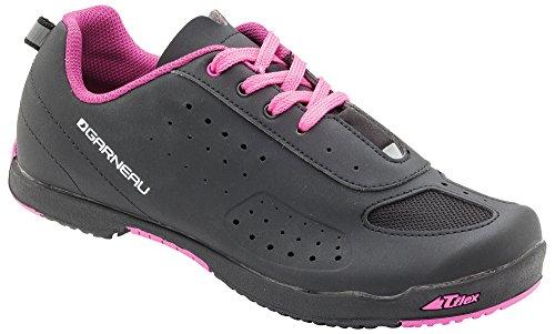 Louis Garneau - Women's Urban Bike Shoes, Black/Pink, US (11), EU (42) by Louis Garneau