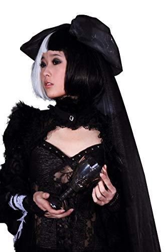 Steampunk Bolero Jacket Shrug Women Black Tops Scarves Pashmina Feather Shawl