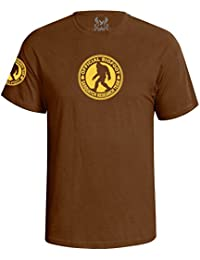 Men's Sasquatch Bigfoot Research Team Graphic T-Shirt