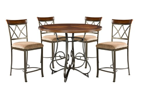 Powell 697-441M2 5 Piece Hamilton Gathering Set, Cherry