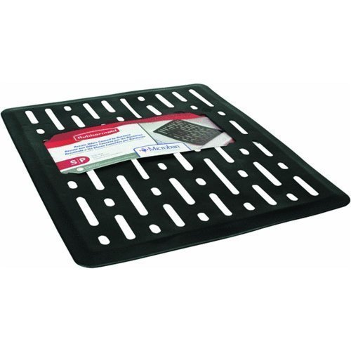 Rubbermaid Rowekamp 1G1706BLA Sink Mat Sm Black (2-Pack)