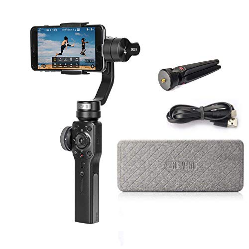 Price comparison product image Zhiyun Smooth 4 3-Axis Handheld Gimbal Stabilizer iPhone X 8 7 Plus 6 Plus Samsung Galaxy S8+ S8 S7 Smartphones Vertigo Shoot Phonego Mode Focus Pull & Zoom Capability