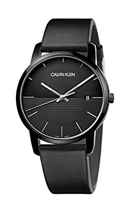 Calvin Klein City Black Steel Men's Watch