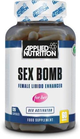 Applied Nutrition Sex Bomb Female for Her für Frauen Steigerung Libido 120 Caps