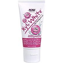 NOW XyliWhite Bubblegum Splash Toothpaste Gel for Kids, 3-Ounce