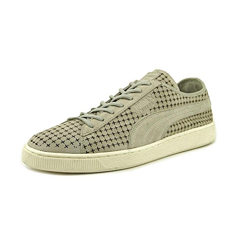 PUMA Suede Courtside Perf Men's Sneakers Gray Violet cheap excellent clearance get to buy free shipping extremely eWQZ7b