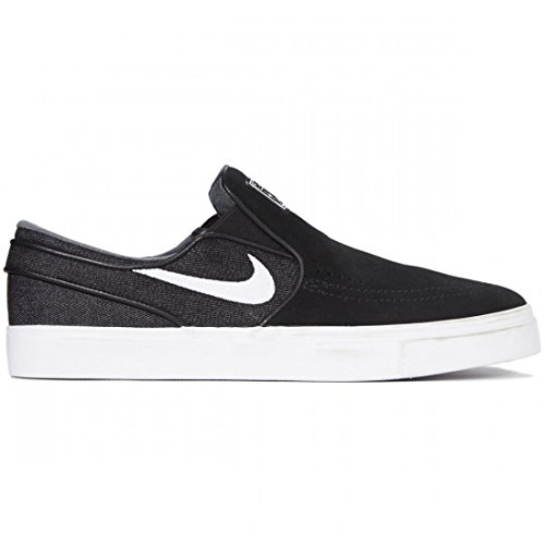 new styles 11bbb 66268 Galleon - Nike Men s Zoom Stefan Janoski Slip, BLACK WHITE, 5.5 M US