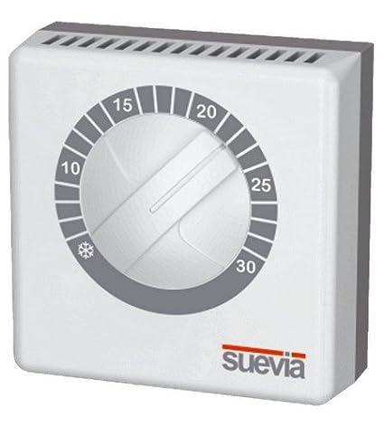 Visto-termostato ambiente con membrana de gas para calefacción y aire acondicionado sistemas Termo efectivamente