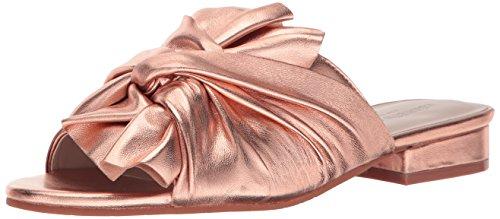 Kenneth Cole New York Women's Violet Flat Sandal Rose Gold