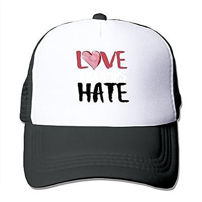 Love Trumps Hate Mesh Hat Trucker Baseball Cap