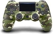 Controlador PS4 [versão atualizada], gamepad sem fio Bluetooth com cabo USB para Sony Playstation 4, compatíve