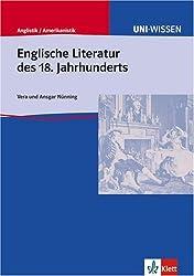 Uni-Wissen, Englische Literatur des 18. Jahrhunderts
