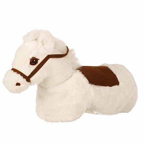 Baby Animal ZRB001W Riding Horse Riding Toy Snowy, White