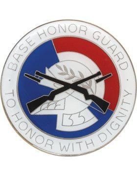 Usaf Base (HG-AF33, BASE HONOR GUARD BADGE, ENAMEL FINISH)