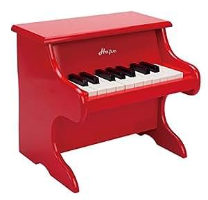 Hape E0318 Playful Piano, Red