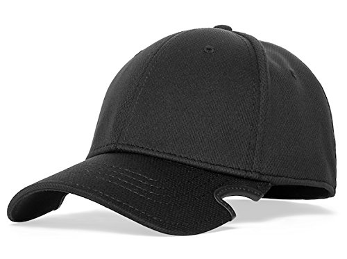 Notch Fitted Black Blank Cap L/XL by Notch