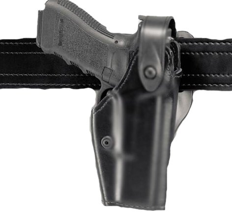 Safariland 6280 Level II SLS Retention Duty Holster, Mid-Ride, Black, STX Tactical, Glock 17, 22 from Safariland