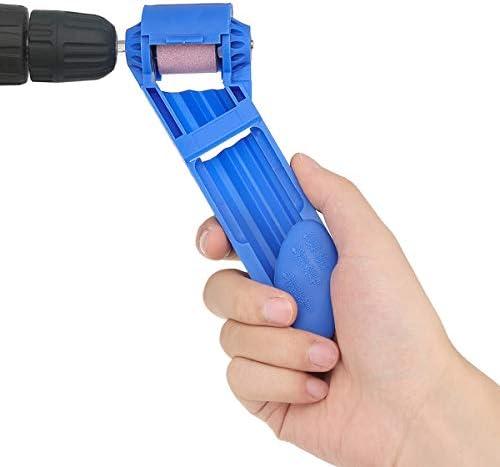 Queenwind Effetool の携帯用ドリルビットの削りのコランダムの車輪の手の携帯用動力を供給する用具
