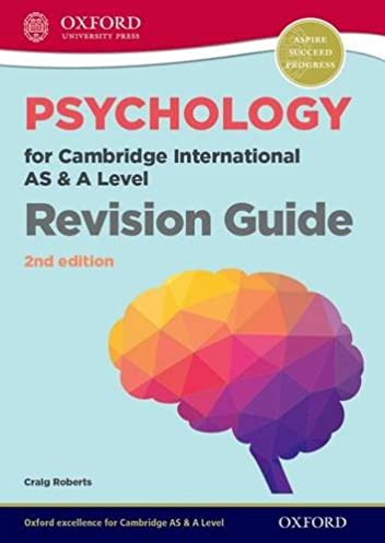 amazon com psychology for cambridge international as and a level rh amazon com Revision Timetable cambridge international as/a level psychology revision guide 2nd edition