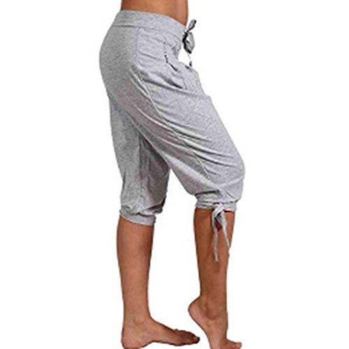 da Grigio 3XL Spiaggia per Pantaloni S Pantaloni Pantaloncin Donne 5XL Grandi L Pantaloni 2XL Sportivi Sciolti 4XL Dimensioni Yoga XL Jogging Di Coulisse Confortevole Casual M Fitness Danza SwfSXCpxq