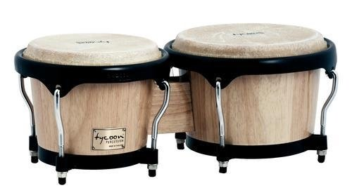 Tycoon Percussion 7 Inch & 8 1/2 Inch Artist Series Bongos - Natural Finish by Tycoon Percussion