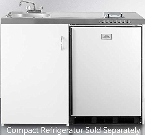 Summit C48 Kitchen All in One Combination Unit, White ()