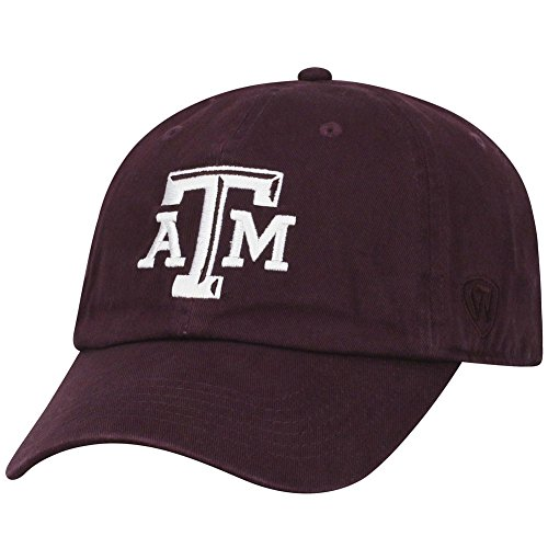 Texas A&m Aggies Sport Hat - Top of the World Texas A&M Aggies Men's Hat Icon, Maroon, Adjustable